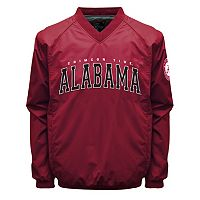 Men's Franchise Club Alabama Crimson Tide Coach Windshell Jacket
