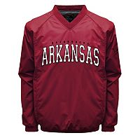 Men's Franchise Club Arkansas Razorbacks Coach Windshell Jacket
