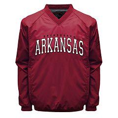 Men's Franchise Club Arkansas Razorbacks Coach Windshell Jacket