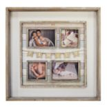 New View Family Pennant 4-Opening Fashion Collage Frame