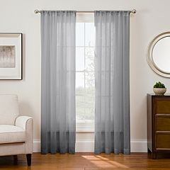 Sharper Image 1-Panel Sonoma Window Curtain