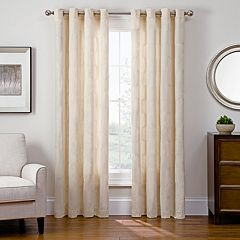 Sharper Image 1-Panel Cassie Window Curtain