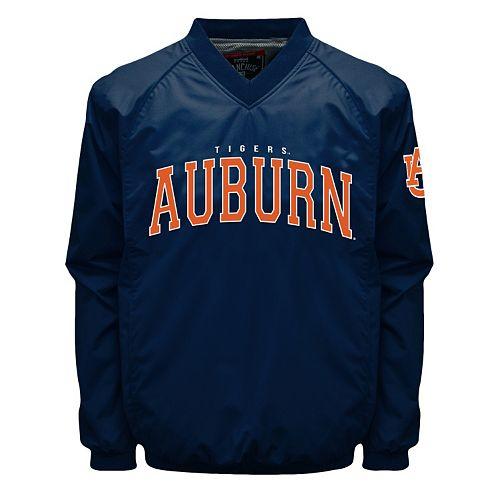 Men's Franchise Club Auburn Tigers Coach Windshell Jacket
