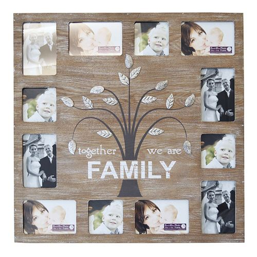 New View Family Tree 12 Opening Fashion Collage Frame
