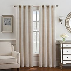 Style Domain 1-Panel Coco Window Curtain