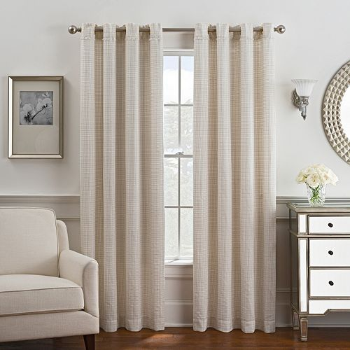 Style Domain 1-Panel Coco Window Curtain