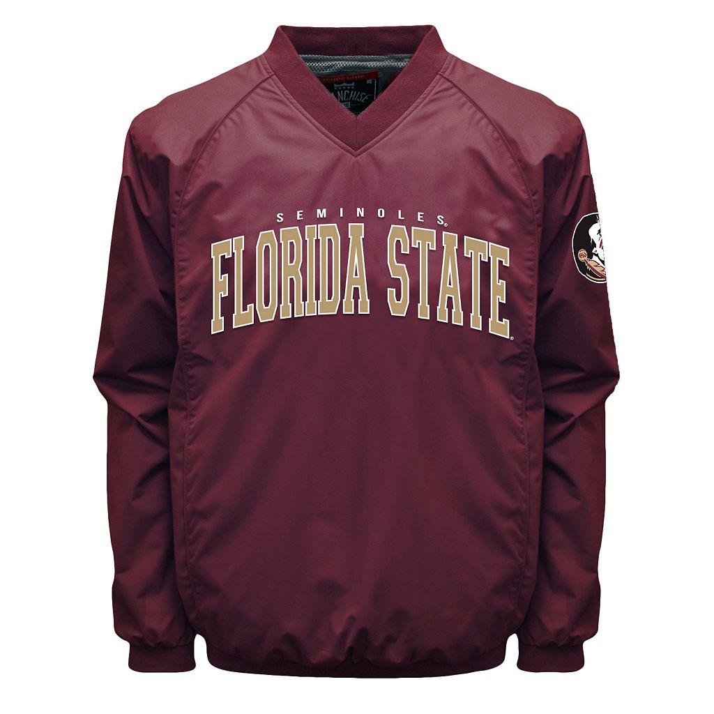 Men's Franchise Club Florida State Seminoles Coach Windshell Jacket