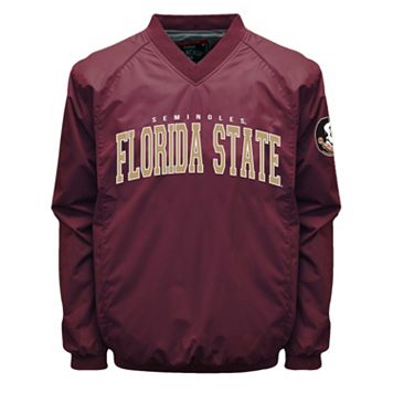 Men's Franchise Club Florida State Seminoles Coach Windshell Jacket