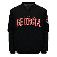 Men's Franchise Club Georgia Bulldogs Coach Windshell Jacket