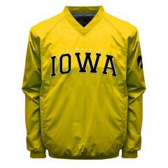 Men's Franchise Club Iowa Hawkeyes Coach Windshell Jacket