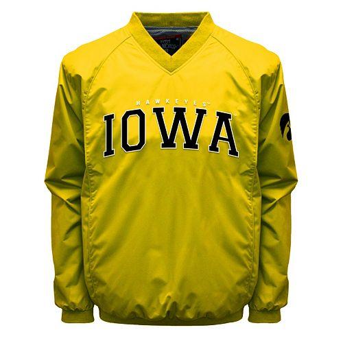 Men's Franchise Club Iowa Hawkeyes Coach Windshell Jacket