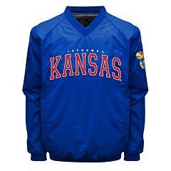 Men's Franchise Club Kansas Jayhawks Coach Windshell Jacket