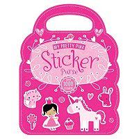 My Pretty Pink Sticker Purse Doodle Book