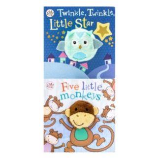"""""""Twinkle, Twinkle, Little Star"""" & """"Five Little Monkeys"""" 2-pk. Book Set"""