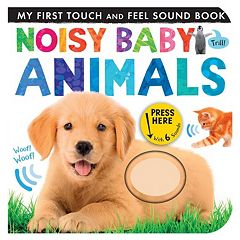 Noisy Baby Animals My First Touch & Feel Sound Book
