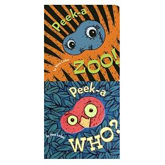 'Peek-a Zoo' & 'Peek-a Who?' 2-pk. Book Set