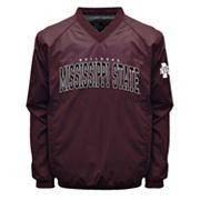 Men's Franchise Club Mississippi State Bulldogs Coach Windshell Jacket