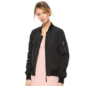 madden NYC Juniors' Military Bomber Jacket