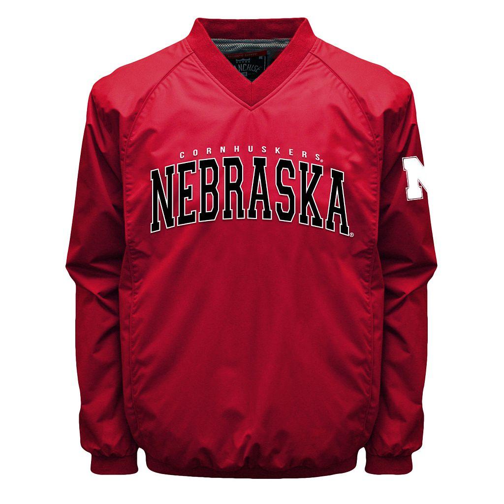Men's Franchise Club Nebraska Cornhuskers Coach Windshell Jacket