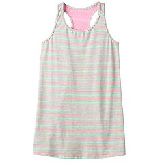 Girls 7-16 SO® Striped Sleveless Swim Cover-Up Dress