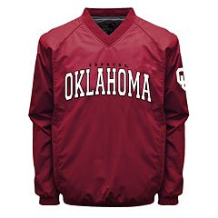 Men's Franchise Club Oklahoma Sooners Coach Windshell Jacket
