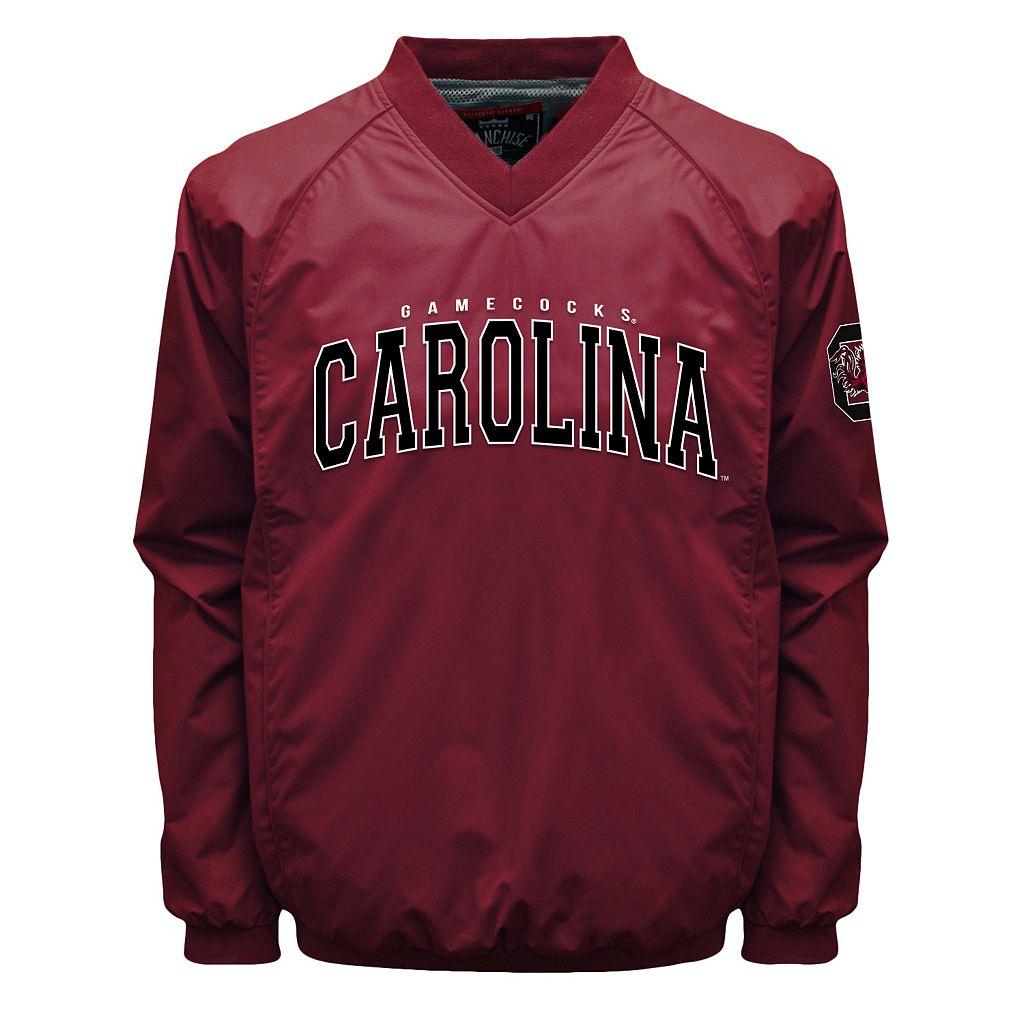 Men's Franchise Club South Carolina Gamecocks Coach Windshell Jacket