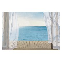 Artissimo Blue Breeze Canvas Wall Art