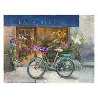 Artissimo La Violette Grand Canvas Wall Art