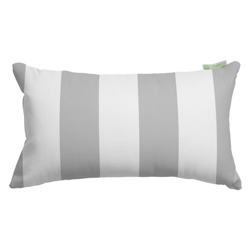 Majestic Home Goods Vertical Stripe Indoor / Outdoor Oblong Throw Pillow