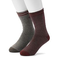 Men's Columbia 2-pack Medium Weight Thermal Crew Socks
