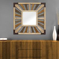 Stratton Home Decor Pieced Wall Mirror