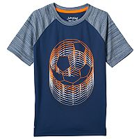 Boys 4-10 Jumping Beans® Space-Dyed Raglan Athletic Tee