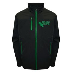 Men's Franchise Club North Texas Mean Green Softshell Jacket