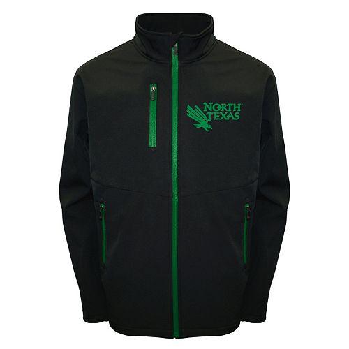 Men's Franchise Club North Texas Mean Green Softshell Jacket