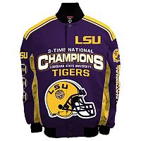 Men's Franchise Club LSU Tigers Champions Twill Jacket