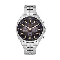 Seiko Men's Recraft Stainless Steel Chronograph Watch - SSC511