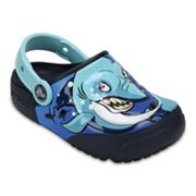 Crocs Crocs Fun Lab Shark Kids' Light-Up Clogs