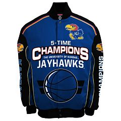 Men's Franchise Club Kansas Jayhawks Champions Twill Jacket