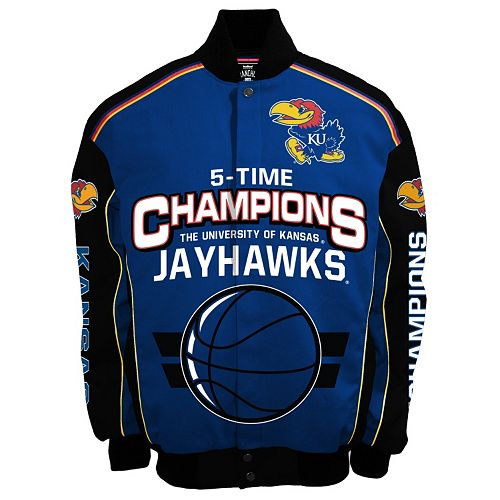 Men's Franchise Club Kansas Jayhawks Champions Twill Jacket
