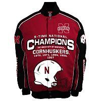 Men's Franchise Club Nebraska Cornhuskers Champions Twill Jacket