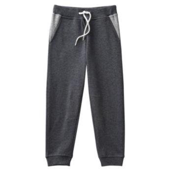 Toddler Boy No Retreat Charcoal Jogger Pants