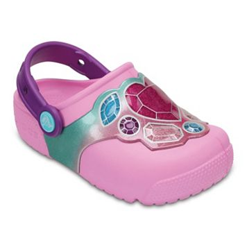 Crocs Crocs Fun Lab Jewel Kids' Light-Up Clogs
