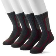 Men's Columbia 4-pack Colorblock Moisture-Control Crew Socks