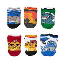 Boys 4-6 6-pack Disney Lion King Low-Cut Socks