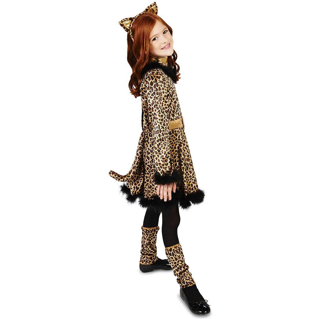 Kids Bold Leopard Dress Costume