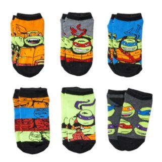 Boys 4-11 6-pack Nickelodeon Teenage Mutant Ninja Turtles Low-Cut Socks