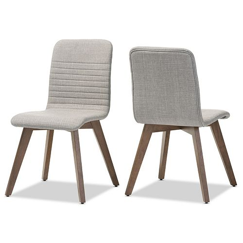 Baxton Studio Sugar Dining Chair 2-piece Set