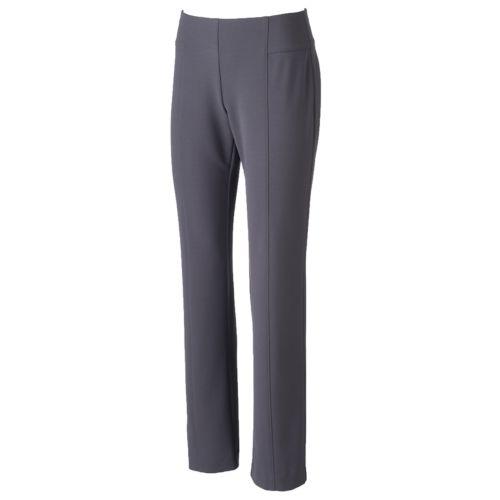 Women's Apt. 9® Straight-Leg Pull-On Pants