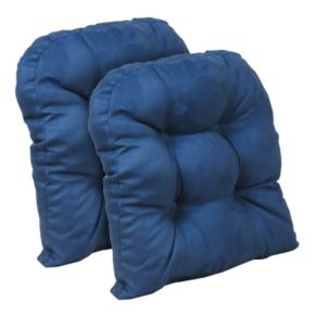 """The Gripper Obsession 15"""" x 15"""" Tufted Chair Pad 2-pk."""