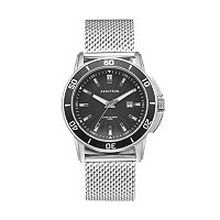 Armitron Men's Mesh Watch - 20/5176BKSV